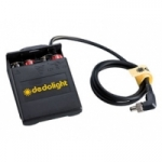 Dedolight DLBF-8AA (DLBF8AA) External battery holder for 8pc. AA batteries (Fillini & Ledzilla)